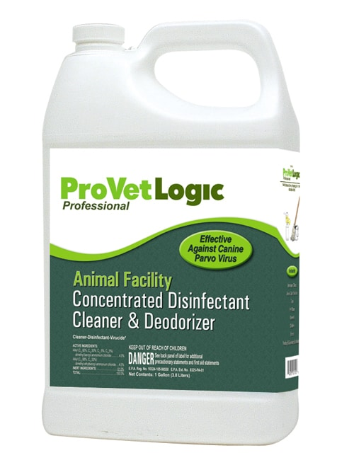 Animal Facility Disinfectant, Cleaner, & Deodorizer – 1 gallon EZ Store Bottle