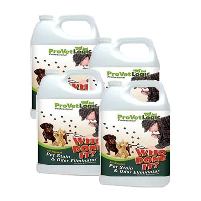WHO DONE IT? Pet Stain & Odor Eliminator, 4-One Gallon