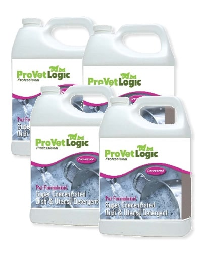 Pet Dish Detergent 4 One Gallon Containers