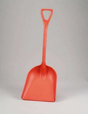 One piece shovel