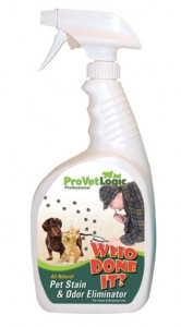 Who Done It? Pet Stain and odor remover