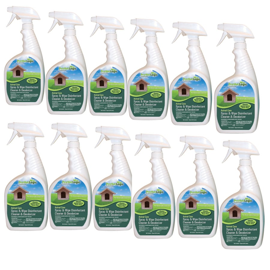 Spray and Wipe 12 Pack