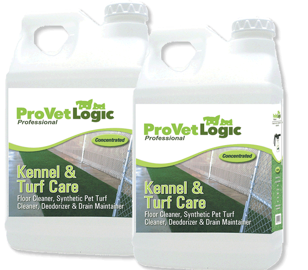 Kennel and Turf Care 2 bottles of 2.5 gallons each