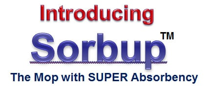 Sorbup disposable mops