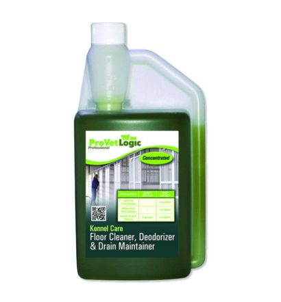 Kennel Care Enzymatic Floor Cleaner, Deodorizer & Drain Maintainer – Precision Pour 32-Ounce