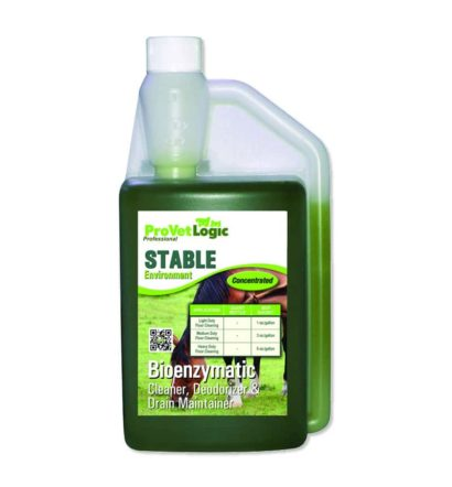 STABLE Environment Bioenzymatic Cleaner, Deodorizer & Drain Maintainer 32-Ounce Precision Pour Bottle