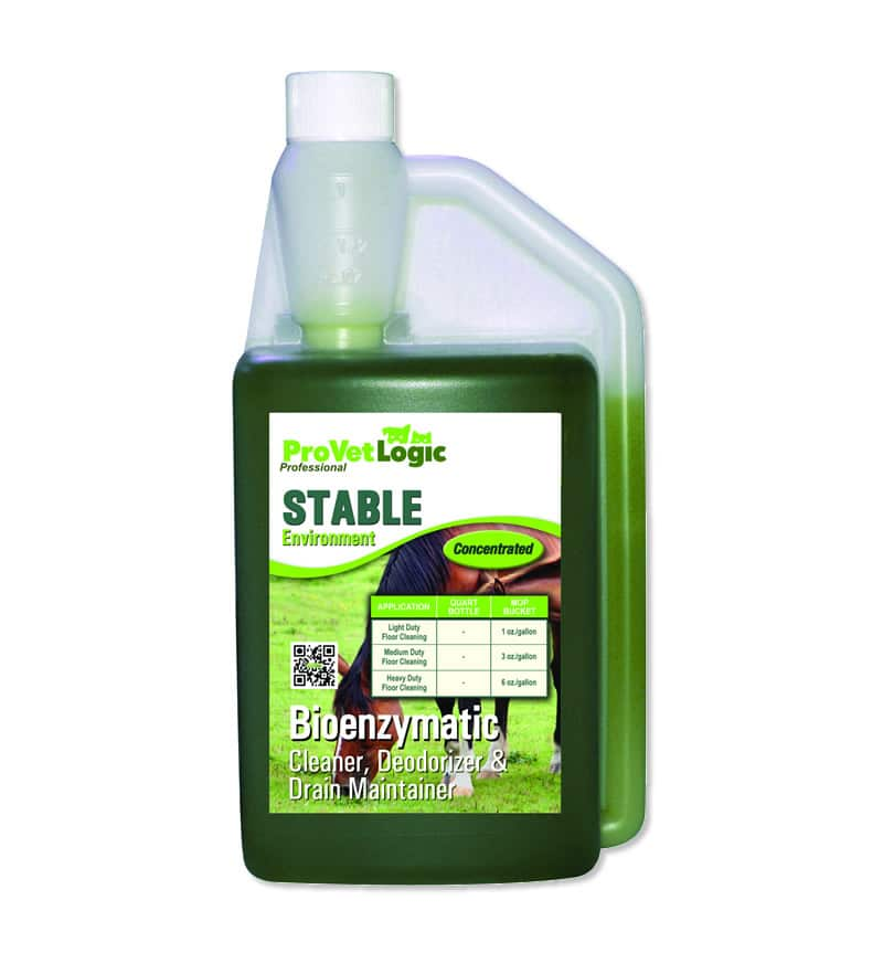 STABLE Environment Bioenzymatic stable cleaner, deodorizer & drain Maintainer 32-Ounce  Precision Pour Bottle