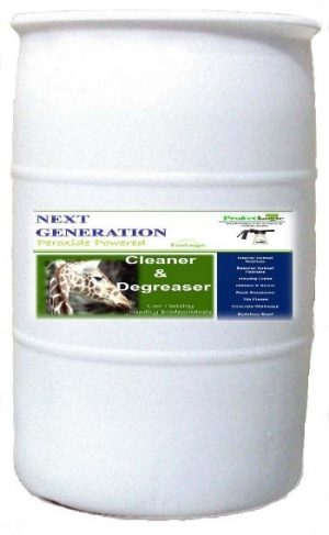 Peroxide cleaner 55 gallons