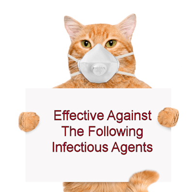 Effective Against Infectious Agents