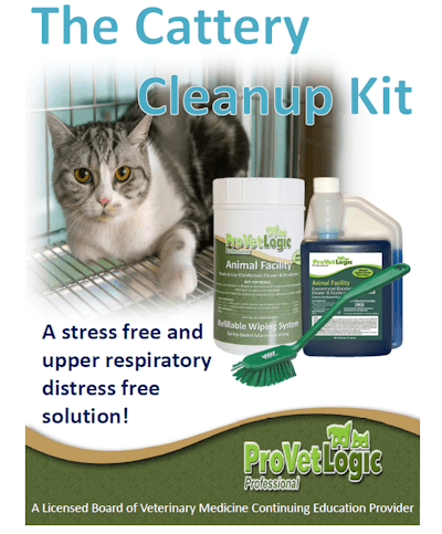 Cattery Cleanup Kit