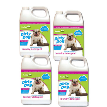 Dirty Dog Laundry Detergent 4 Pack