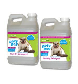 V50 Dirty Dog Laundry Detergent 2.5 Gallon 2pack