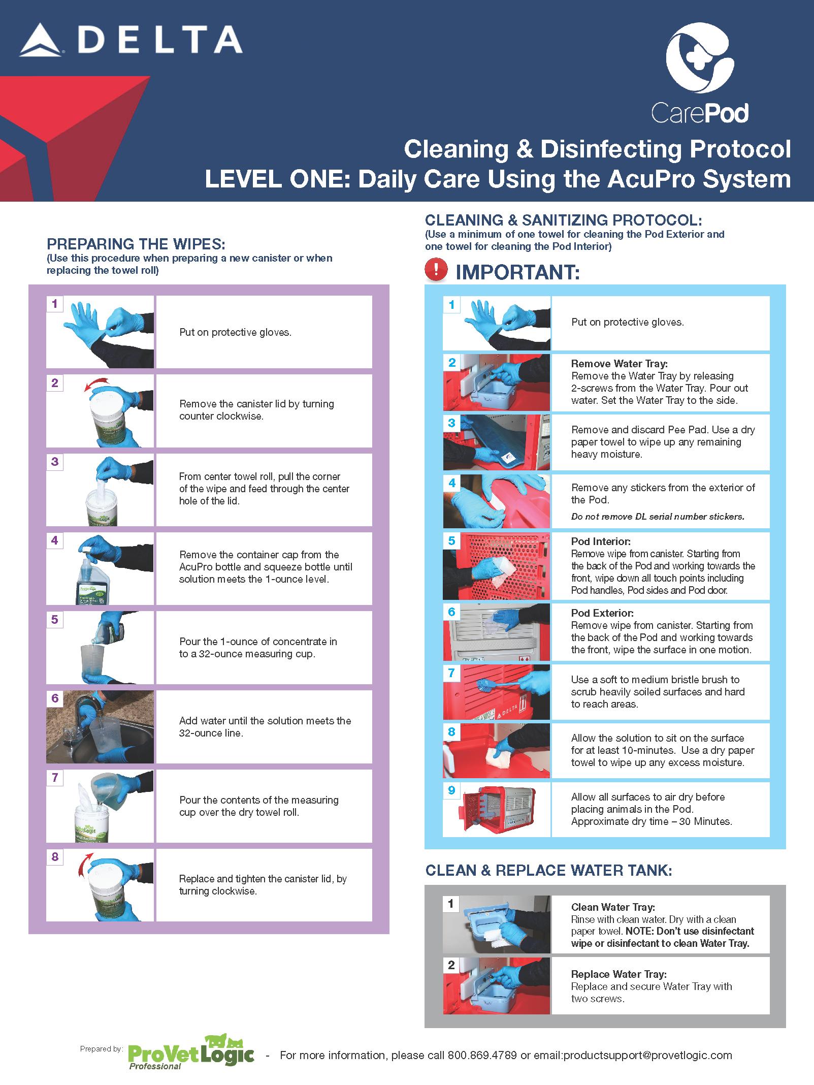 Delta Care Pod Protocol