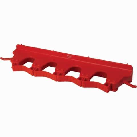 Sanitary Tool Hanger Red