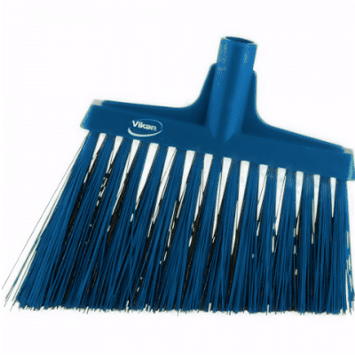 Broom, Angle Cut Blue