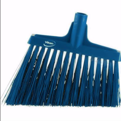 Broom, Angle Cut Blue