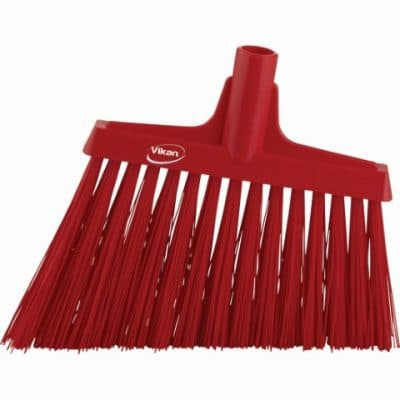 Broom, Angle Cut Red