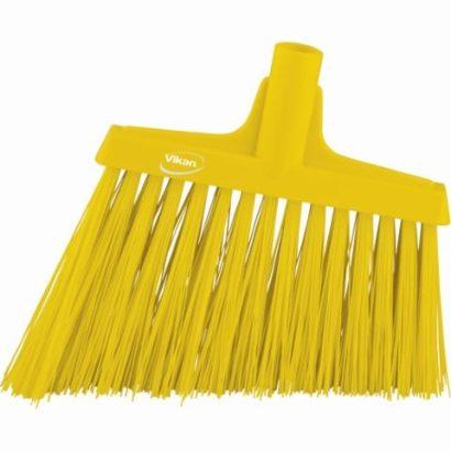 Broom, Angle Cut Yellow