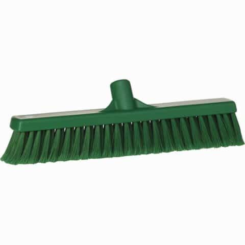 Broom, Push, Soft Bristle Green