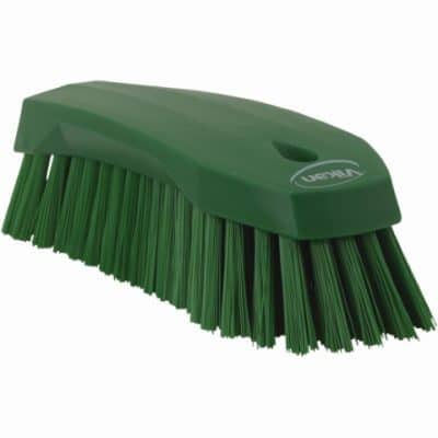 Brush, Hand Scrub, Stiff Bristle Green