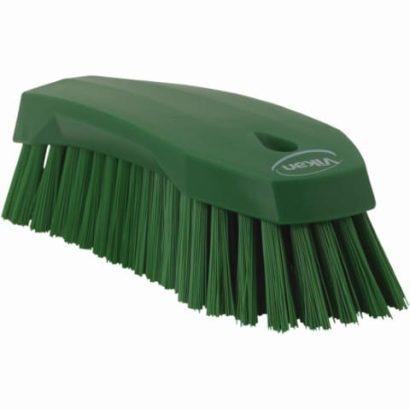 Brush, Hand Scrub, Stiff Bristle Green