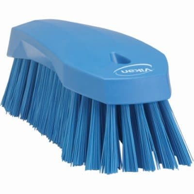 Brush, Hand Scrub, Stiff Bristle Blue