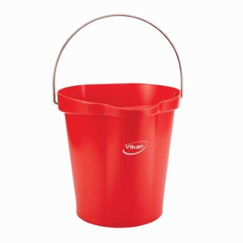 Pail With Drip Free Spout Red