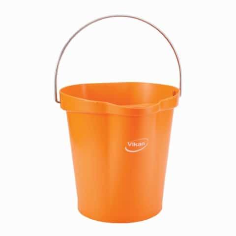 Pail With Drip Free Spout Orange