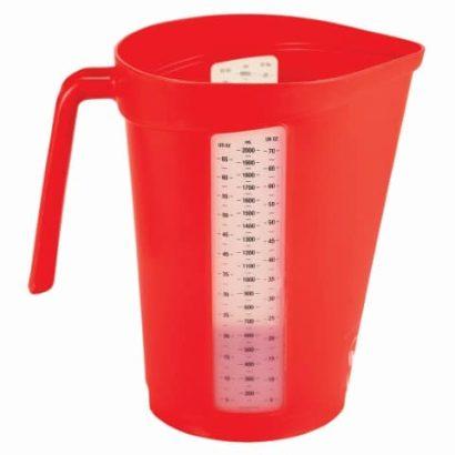 PVL 6000 Measuring Jug Red