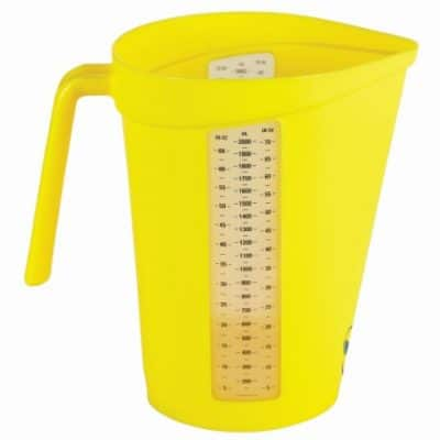 PVL 6000 Measuring Jug Yellow