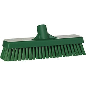 Brush, Deck, Stiff Bristle Green