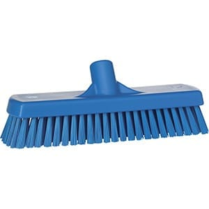 Brush, Deck, Stiff Bristle Blue