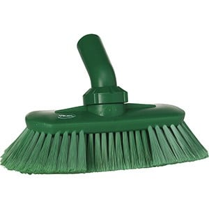 Brush, Angle Adjustable Green