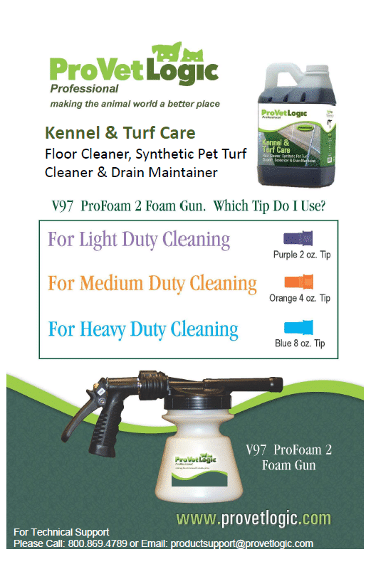 Pet Turf Cleaning Protocol