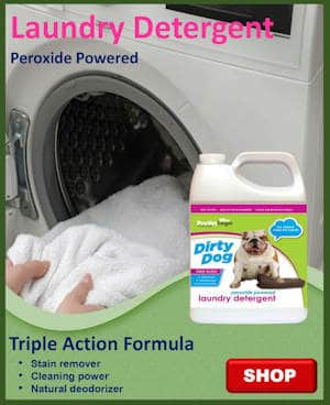 Peroxide Powered Laundry Detergent
