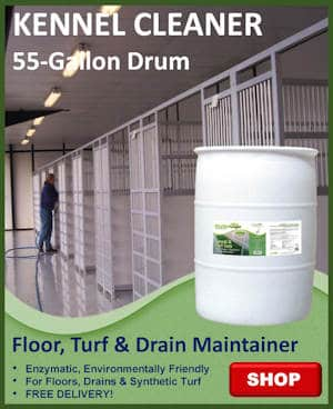 55 Gallons Kennel and Turf Care