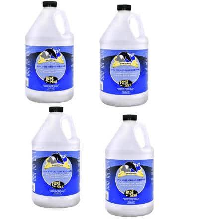 M.E.D. 3% Chlorhexidine Shampoo 4 Pack