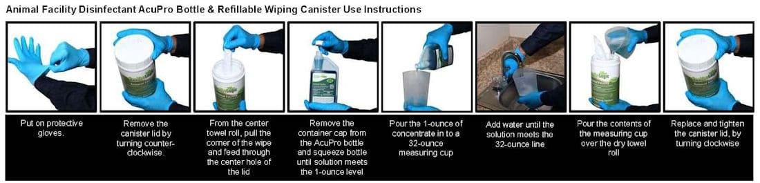 Animal Facility AcuPro Use Instructions