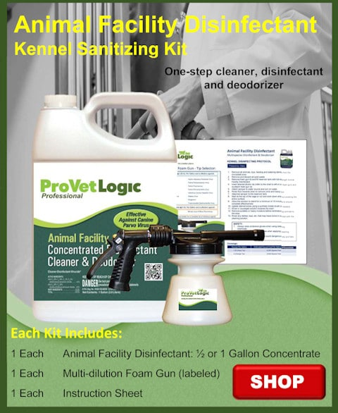 Animal Facility Disinfectant Kennel Sanitizing Kit