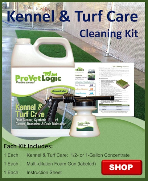 Kennel And Turf Care Cleaning Kit